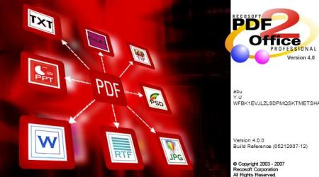PDF2Office 5.0 Portable