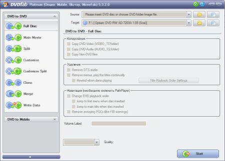 DVDFab Platinum + Mobile 6.0.1.6 Portable