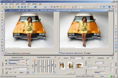 Advanced JPEG Compressor 2009 7.2.90 Portable