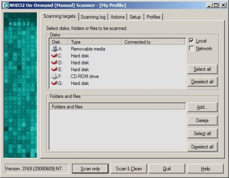 NOD32 OnDemand Scanner 2009.06.15 Portable